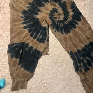 BP tie dye sweatpants from Bloomingdales
